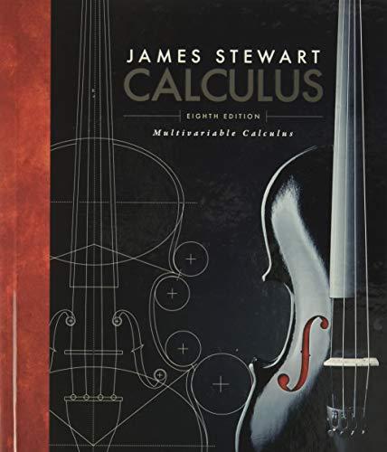Multivariable Calculus: James Stewart