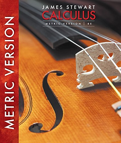 9781305266728: Calculus, International Metric Edition