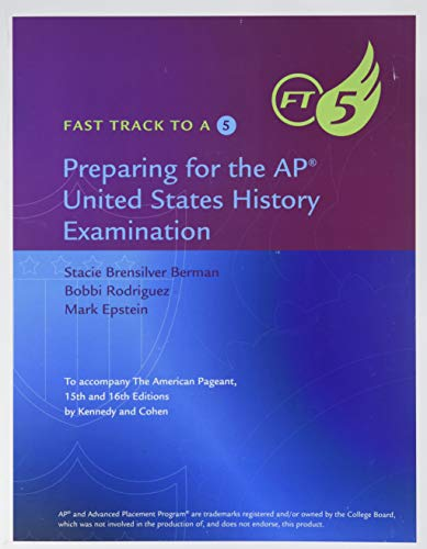 9781305267428: Fast Track to a 5: Preparing for the AP United States History Examination: To Accompany The American Pageant 15th and 16th Editions