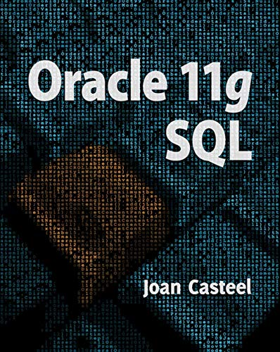 9781305268029: Oracle 11G: SQL (Book Only)