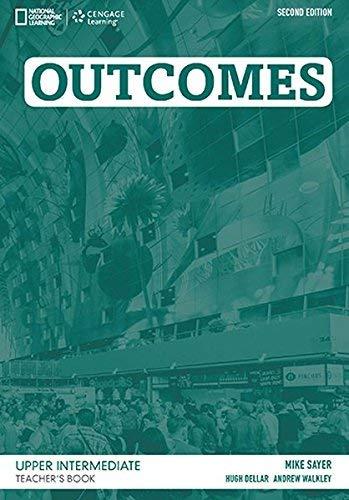 9781305268203: Outcomes Upper Intermediate: Teacher's Book and Class Audio CD