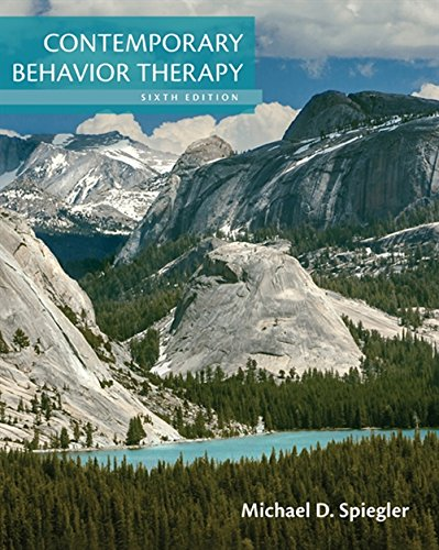 9781305269217: Contemporary Behavior Therapy