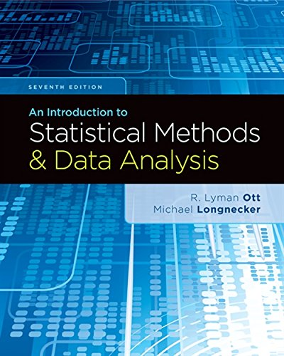 9781305269477: An Introduction to Statistical Methods and Data Analysis