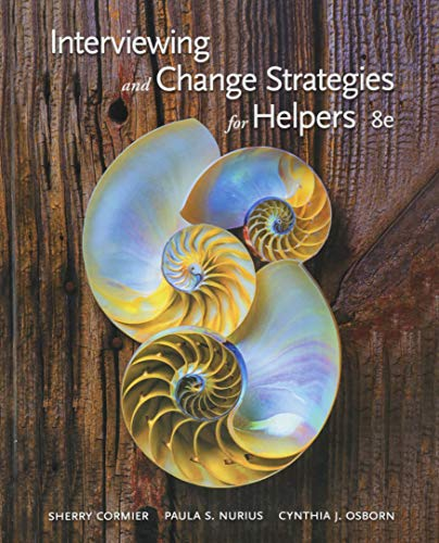 9781305271456: Interviewing and Change Strategies for Helpers