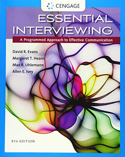 9781305271500: Essential Interviewing: A Programmed Approach to Effective Communication