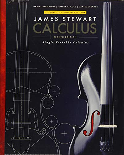 9781305271814: Student Solutions Manual, Chapters 1-11 for Stewart's Single Variable Calculus, 8th (James Stewart Calculus)