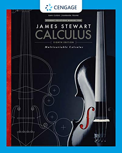 9781305271821: Student Solutions Manual, Chapters 10-17 for Stewart's Multivariable Calculus, 8th (James Stewart Calculus)