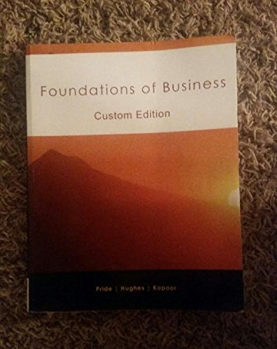 9781305282612: Foundations of Business
