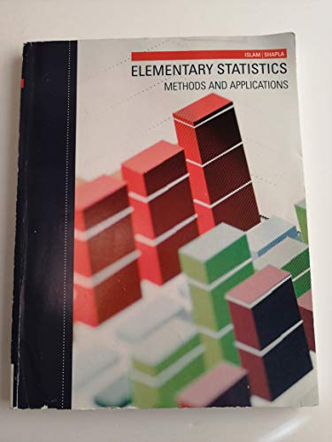 9781305282735: Elementary Statistics - Methods and Applications