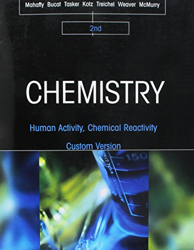 9781305284203: Chemistry: Human Activity, Chemical Reactivity