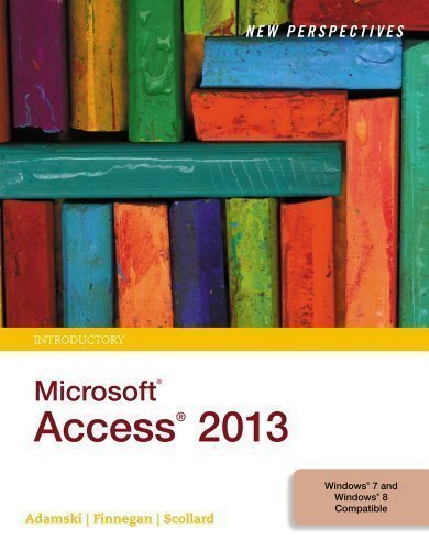 9781305284258: New Perspectives on Microsoft Access 2013, Introductory 1st (first) Edition by Adamski, Joseph J., Finnegan, Kathy T. published by Cengage Learning (2013)