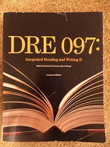 9781305289895: DRE 097: Integrated Reading and Writing II
