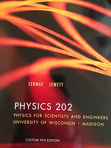 9781305292390: Physics 202 Physics for Scientists and Engineers w/ Enhanced Web-Assign Package Univ of Wisc Madison
