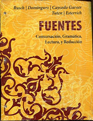 9781305296398: Fuentes Conversacion, Gramatica, Lecturea, y Redaccion