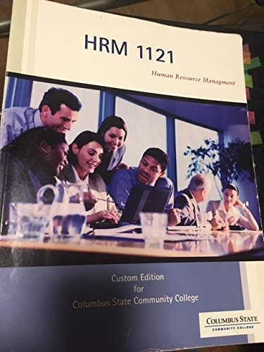 9781305298668: Human Resource Management, HRM 1121, Columbus State Community College
