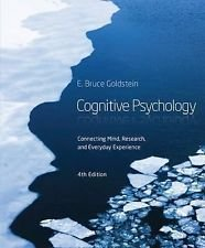 9781305300545: Cognitive Psychology (Not Textbook, Access Code Only) By E. Bruce Goldstein 4th Edition