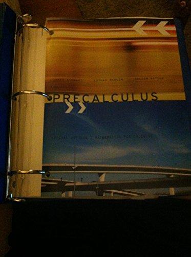 9781305301665: Precalculus Special Edition