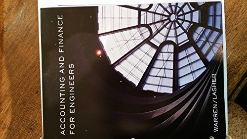 9781305301689: Accounting and Finance for Engineers