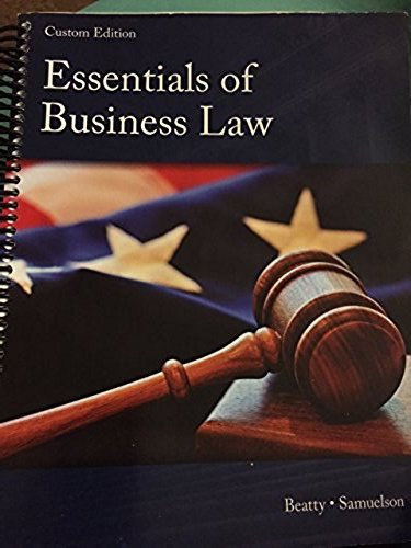 9781305301818: Essentails of Business Law