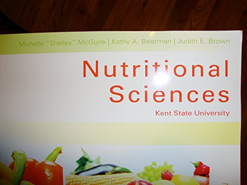 9781305303331: Nutritional Sciences, Kent State University, Revised Custom Third Edition