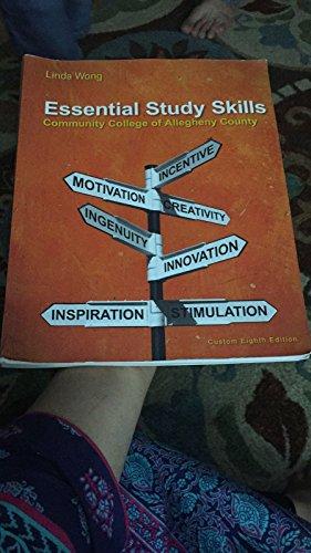 9781305303393: Essentials Study Skills: Community College of Allegheny County Custom Eighth Edition