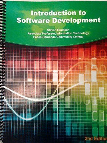 9781305307858: Introduction to Software Development