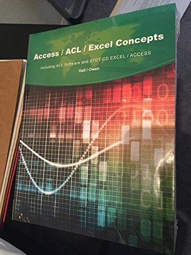 9781305315006: Access/ACL/Excel Concepts