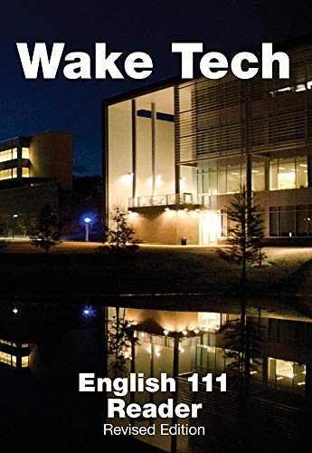 9781305315365: Wake Tech English 111 Reader, Revised Edition