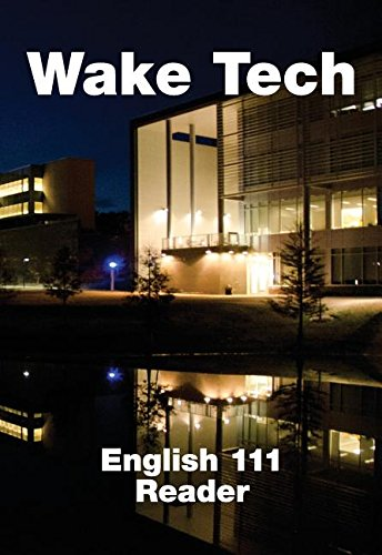 9781305315396: Wake Tech English 111 Reader