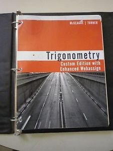 9781305315938: Trigonometry: Custom Edition