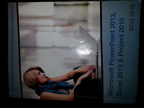 Microsoft Powerpoint 2013, Excel 2013 & Project 2010