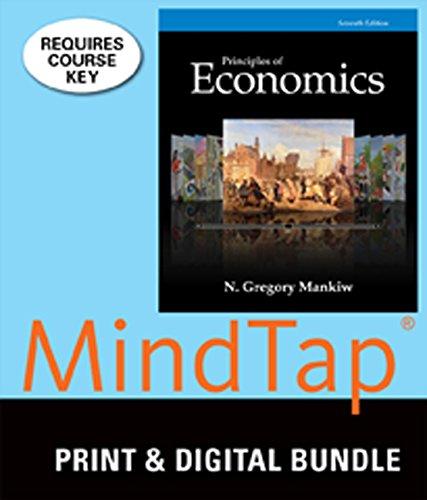 9781305360921: Bundle: Principles of Economics, 7th + MindTap Economics, 1 term (6 months) Printed Access Card