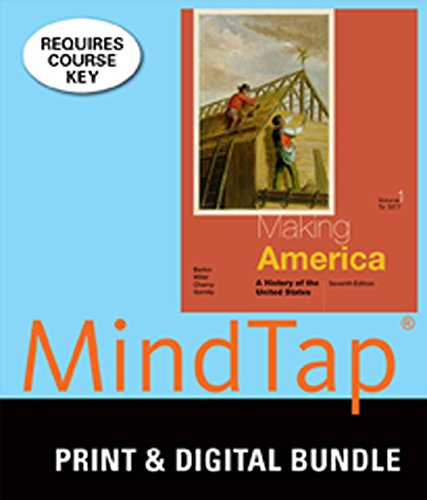 9781305361522: Bundle: Making America: A History of the United States, Volume I: To 1877, 7th + MindTap History, 1 term (6 months) Printed Access Card