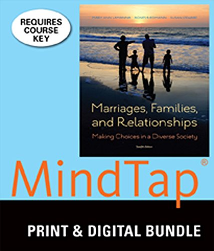 9781305361669: Bundle: Marriages, Families, and Relationships: Making Choices in a Diverse Society, 12th + MindTap Sociology, 1 term (6 months) Printed Access Card