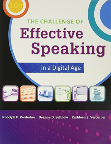 Bundle: The Challenge of Effective Speaking in: Deanna D. Sellnow;
