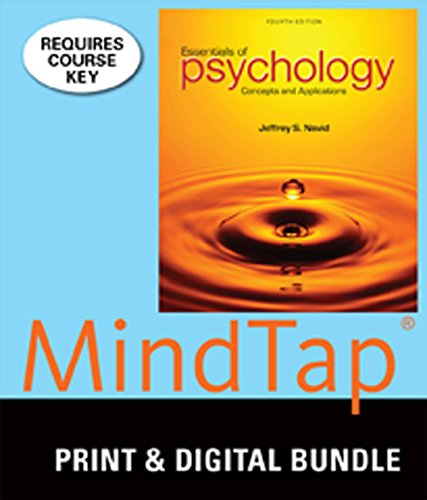 9781305361737: Bundle: Essentials of Psychology: Concepts and Applications, 4th + MindTap Psychology, 1 term (6 months) Access Code