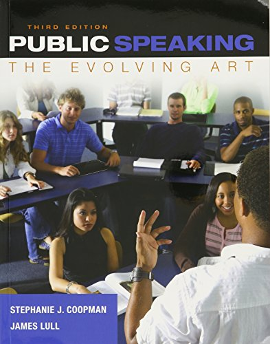 9781305361799: Bundle: Public Speaking: The Evolving Art (with MindTap Speech Printed Access Card), 3rd + MindTap Speech, 1 term (6 months) Printed Access Card