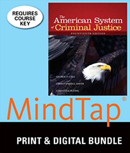 9781305361829: Bundle: The American System of Criminal Justice, 14th + MindTap Criminal Justice, 1 term (6 months) Printed Access Card