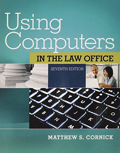 9781305361874: Bundle: Using Computers in the Law Office (with Premium Web Site Access Code), 7th + MindTap Paralegal Access Code