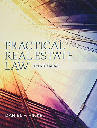 Bundle: Practical Real Estate Law, 7th + MindTap Paralegal Printed Access Card: Daniel F. Hinkel