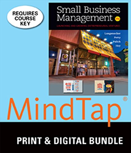 9781305363052: Bundle: Small Business Management, 17th + MindTap Management, 1 term (6 months) Printed Access Card
