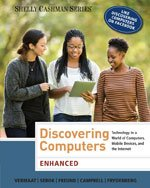 9781305366091: Bundle: Enhanced Discovering Computers + CourseMate Printed Access Card
