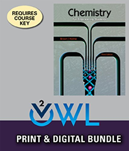 9781305367371: Bundle: Chemistry for Engineering Students, 3rd, Loose-Leaf + OWLv2, 1 term (6 Months) Printed Access Card