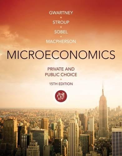 Bundle: Microeconomics: Private and Public Choice, 15th