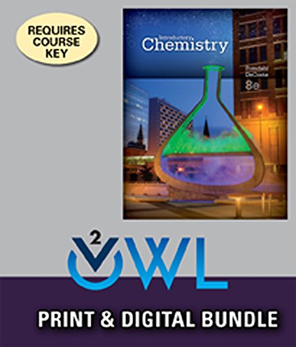 9781305384491: Bundle: Introductory Chemistry, 8th + OWLv2, 1 term (6 months) Printed Access Card