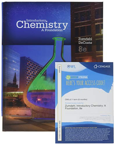 9781305384521: Bundle: Introductory Chemistry: A Foundation, 8th + OWLv2 6-Months Printed Access Card