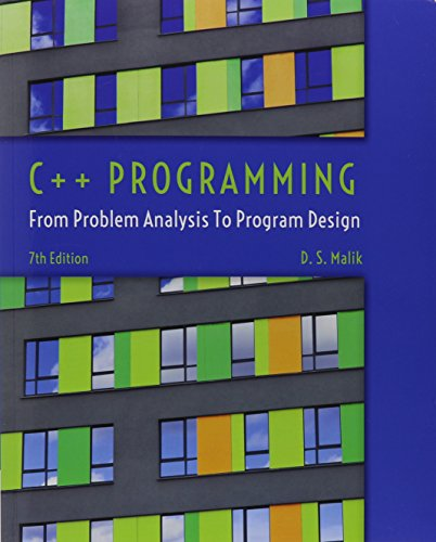 9781305385412: Bundle: C++ Programming: From Problem Analysis to Program Design, 7th + CourseMate with Lab Manual Printed Access Card