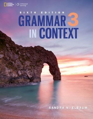9781305386952: Grammar in Context 3: Student Book/Online Workbook Package