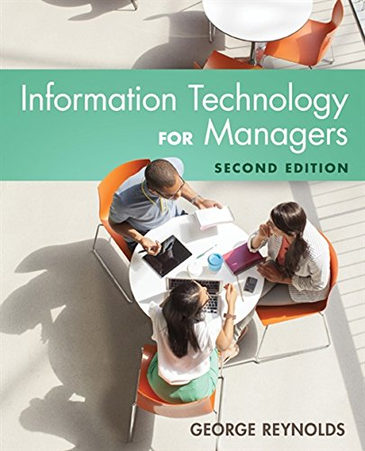 9781305389830: Information Technology for Managers