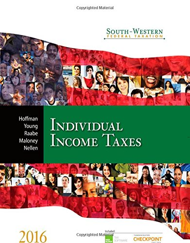 9781305393301: South-Western Federal Taxation 2016: Individual Income Taxes (West Federal Taxation. Individual Income Taxes)